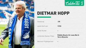 Die Quick Facts zu Dietmar Hopps Golf-Leidenschaft. (Foto: Golf Post)