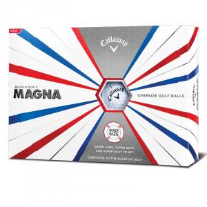 Callaway bringt mit dem Supersoft Magna Golfball ein Modell in Übergröße auf den Markt. (Foto: Callaway)