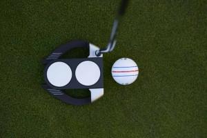 Die Ausrichtungslinien des ERC Soft Golfballs haben unseren Redakteur im test überzeugt. (Foto: Callaway)