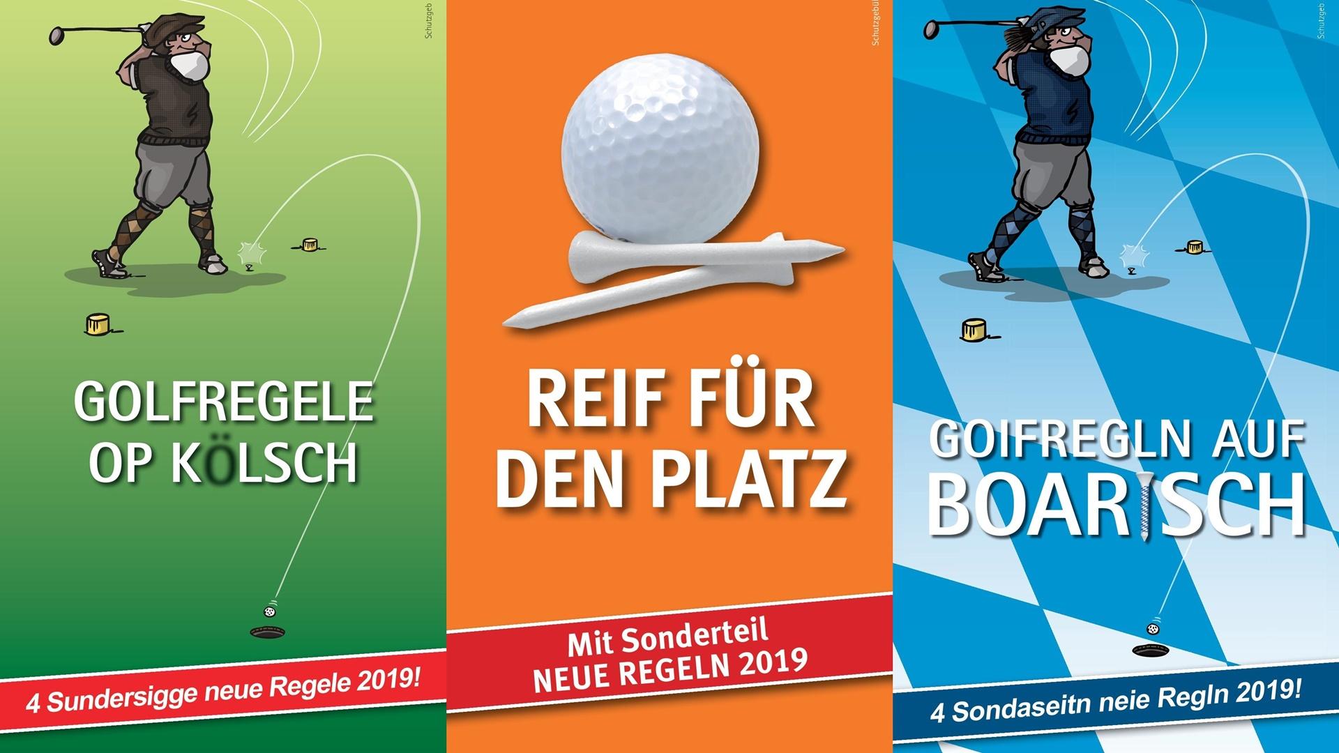 Golfregeln Entfernungsmesser : Neue golfregeln auf kölsch und bayerisch