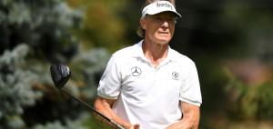 Zum Saisonbeginn der PGA Tour Champions spielt Bernhard Langer stark auf. (Foto: Getty)