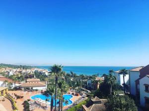 Großartige Ausblicke warten auch aus den Zimmern im Aldiana Club Costa del Sol. (Foto: Golf Post)
