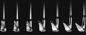 Das Verbindungsstück zwischen Schaft und Schlägerkopf (Hosel) ändert sich von Eisen zu Eisen. (Foto: Cobra)