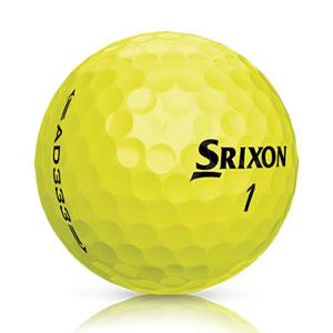 Den Srixon AD333 gibt es auch in gelber Farbvariante. (Foto: Srixon)