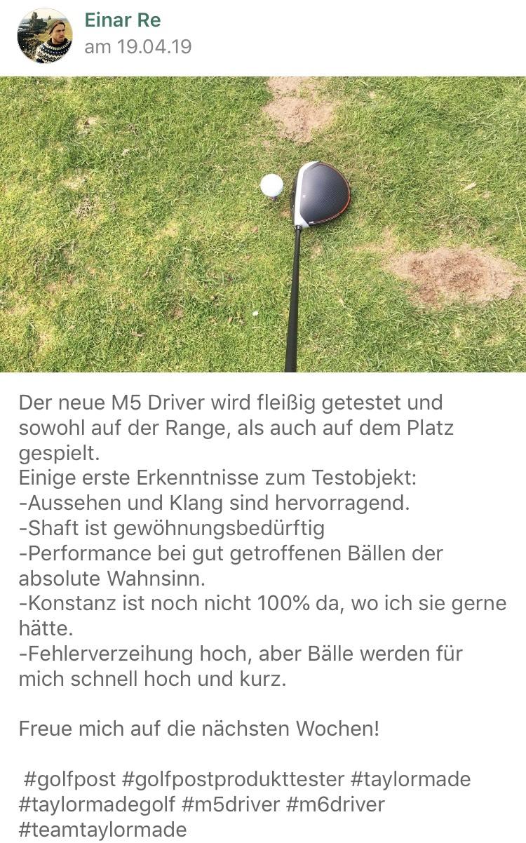 In der Golf Post App können Interessierte erste Details des Tests frühzeitig erfahren. (Foto: Golf Post)