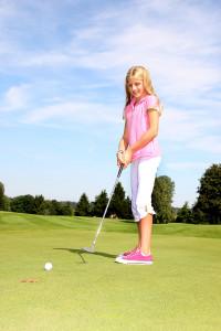 Bild 1: Das Putten ist eines der verbindenden Elemente zwischen Golf- und Minigolfsport. (Foto: DGV)