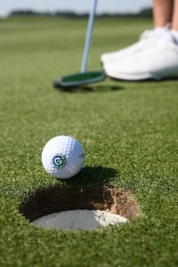 Das Ziel ist beim Golf- und beim Minigolfsport meist das gleiche. Der Ball soll mit möglichst wenigen Schlägen ins Loch. (Foto: DGV)