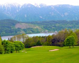 Der GC Millstatt bietet eine atemberaubende Aussicht auf den See. (Foto: Pressegolf)