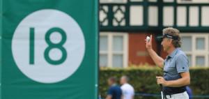 Bernhard Langer überzeugt am Finaltag und gewinnt damit die Senior Open Championship. (Foto: Getty)