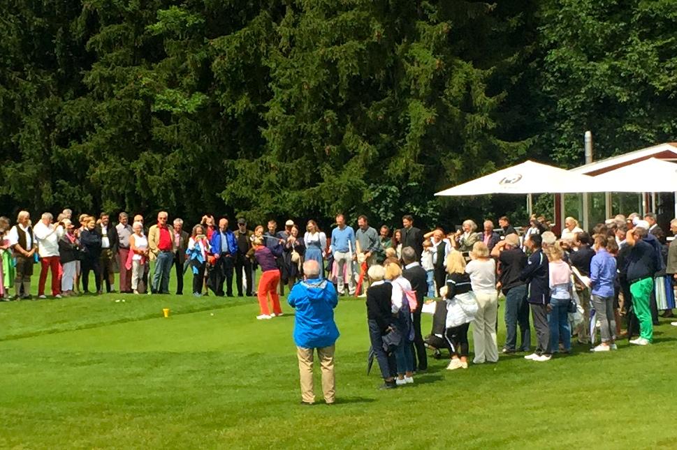 Eröffnung Golfanlage Patting-Hochriesblick