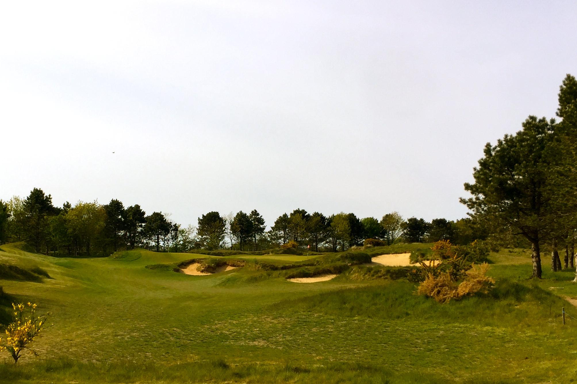 Aus der Golfgeschichte geformt: Die neuen Bahnen des Golf Club Föhr. Foto: Michael F. Basche