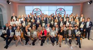 Die Sieger wurden in der Berliner Bertelsmann-Repräsentanz ausgezeichnet. Fotos: Thomas Ecke/DISQ /n-tv.