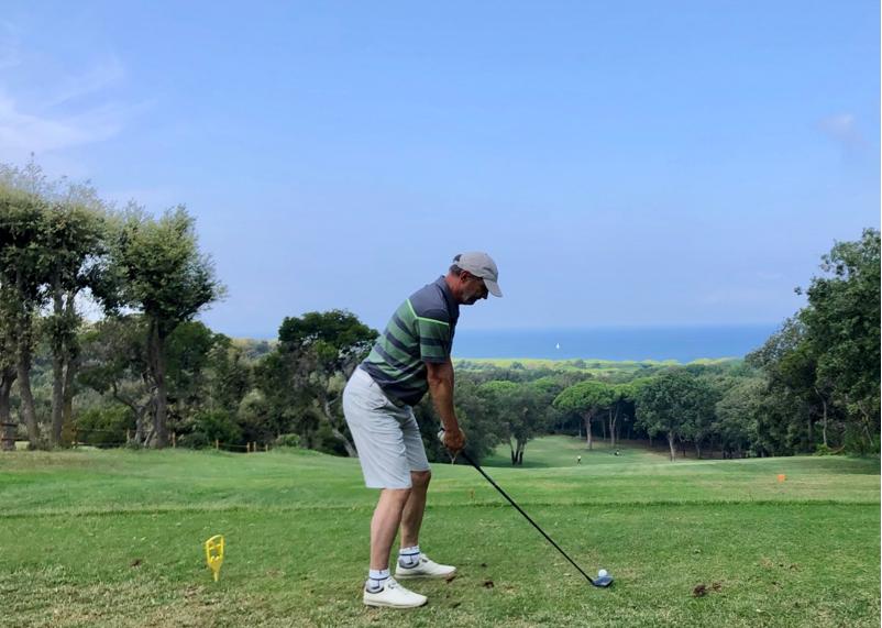 Punta Ala Golf Club - Abschlag Tee 1 (Foto: Jürgen Linnenbürger)