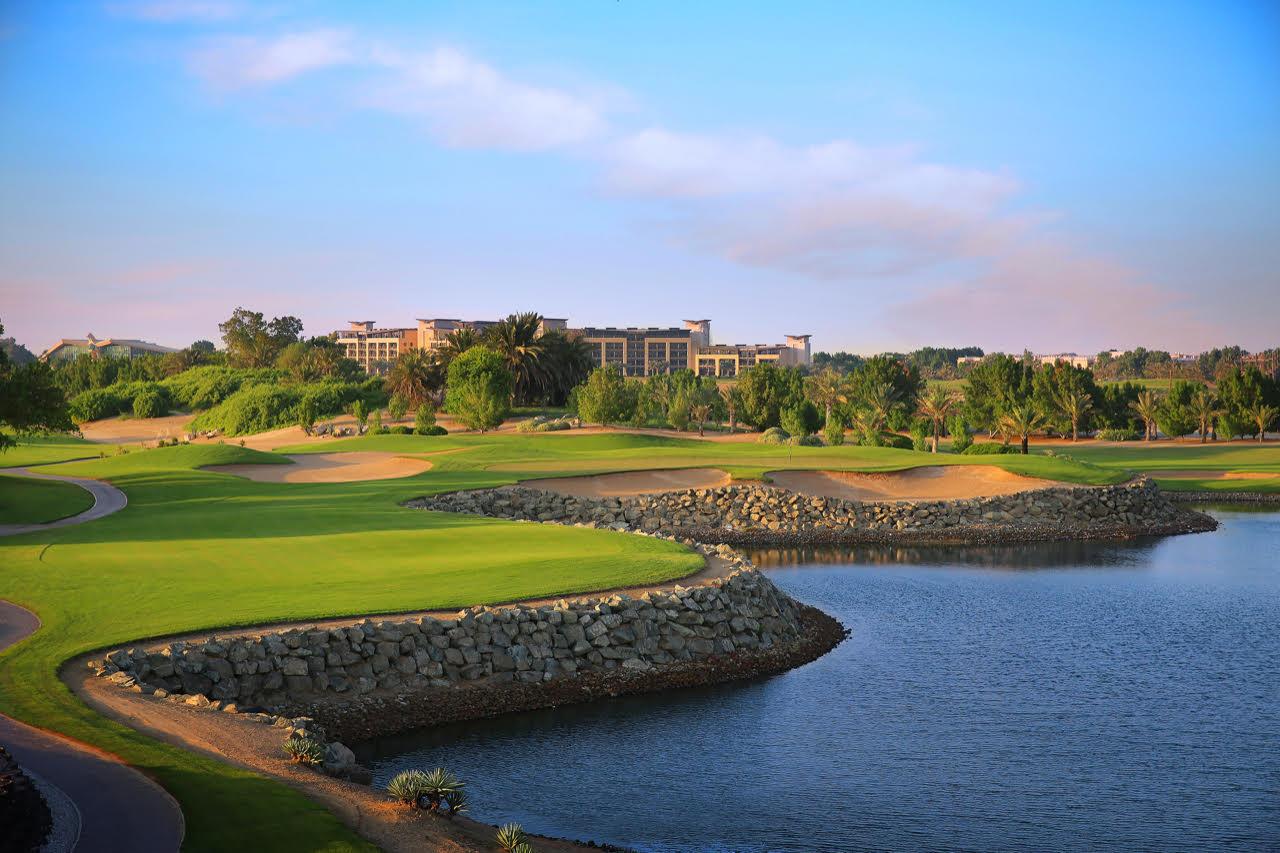 (Foto Abu Dhabi Golf Club: Loch Nummer Sieben)
