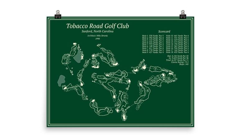 009 course maps tobacco road